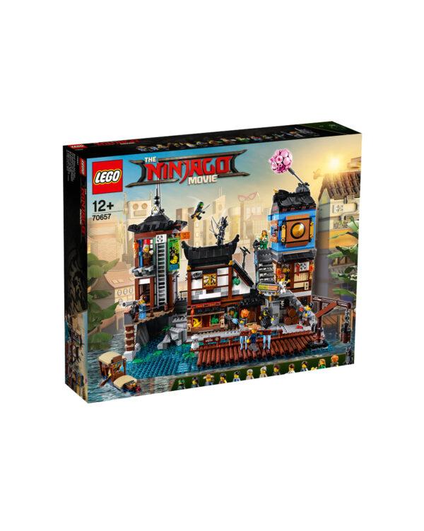 70657 - Porto di NINJAGO® City LEGO NINJAGO Unisex 12+ Anni, 8-12 Anni ALTRI