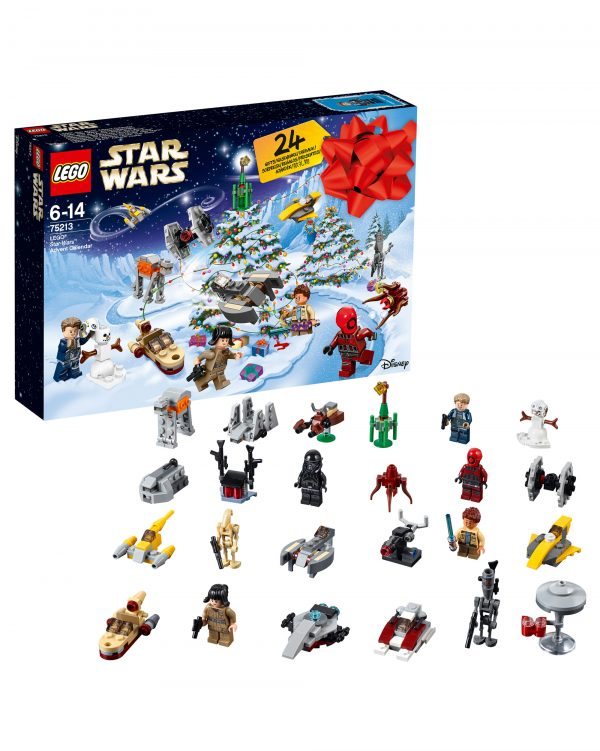75213 - Calendario dell'Avvento 2018 LEGO® Star Wars™ - Età ALTRO Unisex 12+ Anni, 5-8 Anni, 8-12 Anni ALTRI