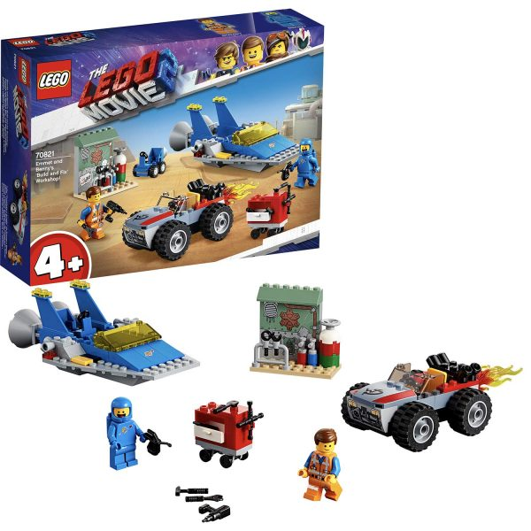 70821 - Emmet e l'officina Aggiustatutto di Benny! - The LEGO Movie 2 - LEGO - Marche ALTRO Unisex 12+ Anni, 3-5 Anni, 5-8 Anni, 8-12 Anni THE LEGO MOVIE 2