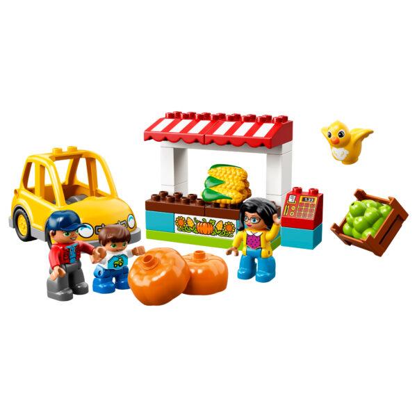 LEGO DUPLO ALTRI 10867 - Il mercatino biologico - Lego Duplo - Toys Center Unisex 12-36 Mesi, 3-5 Anni, 5-8 Anni