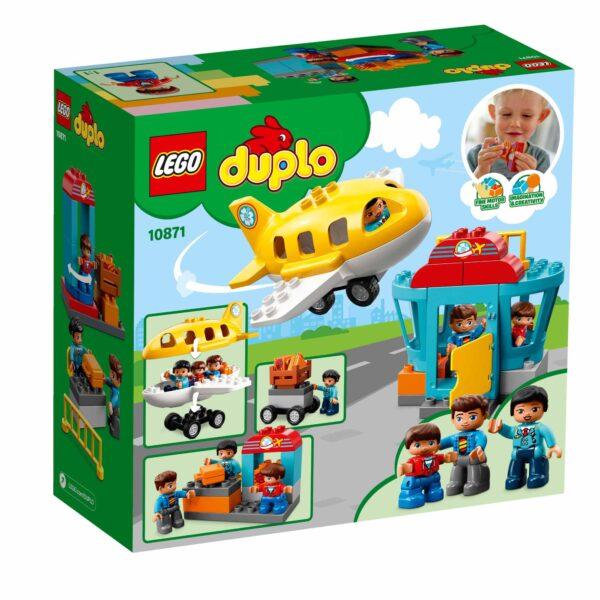 10871 - Aeroporto - Lego Duplo - Toys Center - LEGO DUPLO - Costruzioni