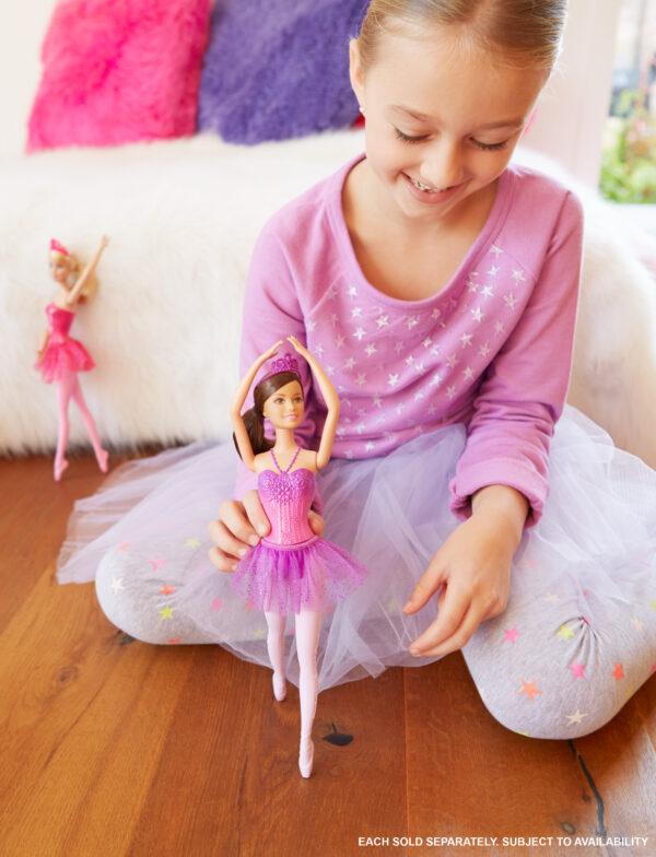 ALTRI Barbie Femmina 12-36 Mesi, 12+ Anni, 8-12 Anni Barbie Fairytale - Bambola Ballerina, Abito Rosa, Bionda