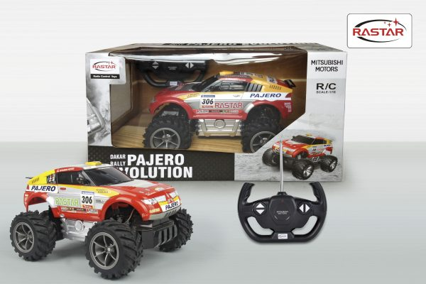Pajero Evolution RC - Motor&co - Toys Center - MOTOR&CO - Fino al -30%