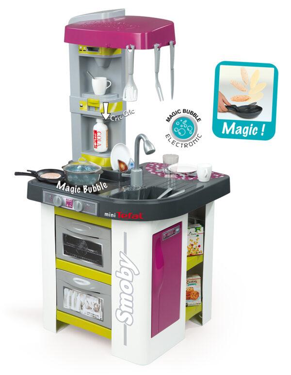 Cucina Studio Bubble Tefal - Cucine e accessori per cucina - Giochi di emulazione, di modellismo, educativi - Giocattoli SMOBY Unisex 12-36 Mesi, 12+ Anni, 8-12 Anni ALTRI