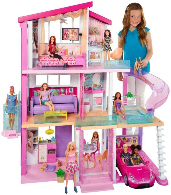ALTRI Barbie Femmina 12-36 Mesi, 12+ Anni, 8-12 Anni Barbie - Casa dei Sogni