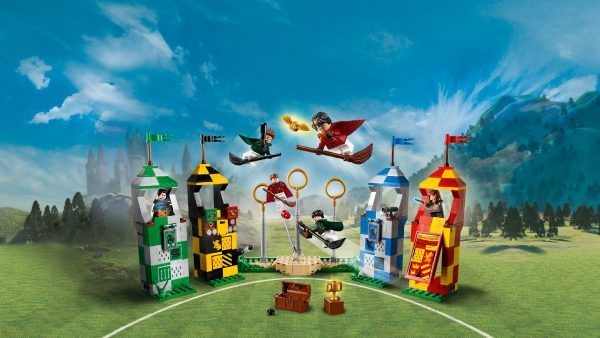 LEGO® Harry Potter™, WARNER BROS. HARRY POTTER 75956 - Harry Potter - Partita di Quidditch - Warner Bros. - Toys Center Unisex 12+ Anni, 5-8 Anni, 8-12 Anni