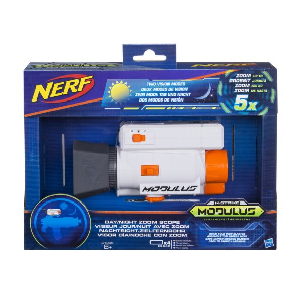 Modulus Day & Night - Nerf - Toys Center NERF Maschio 5-8 Anni ALTRI