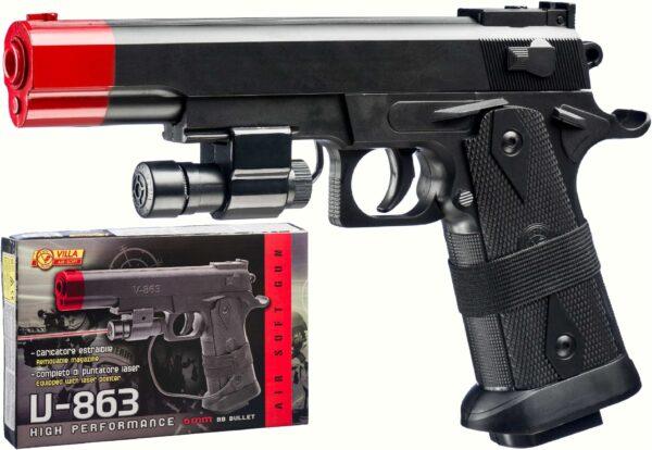 PISTOLA V-863 LASER CAL. 6 mm. - Pistole giocattolo e ad acqua - Estate ALTRO Maschio 12+ Anni ALTRI