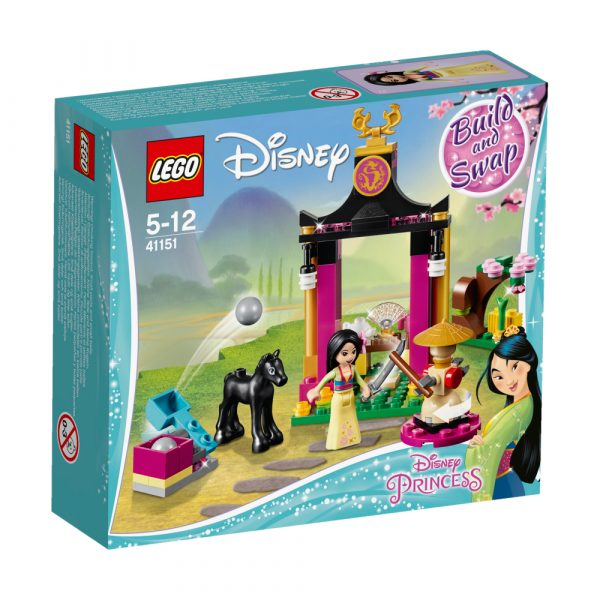 41151 - La giornata di addestramento di Mulan Disney Femmina 12+ Anni, 3-5 Anni, 5-8 Anni, 8-12 Anni PRINCIPESSE DISNEY