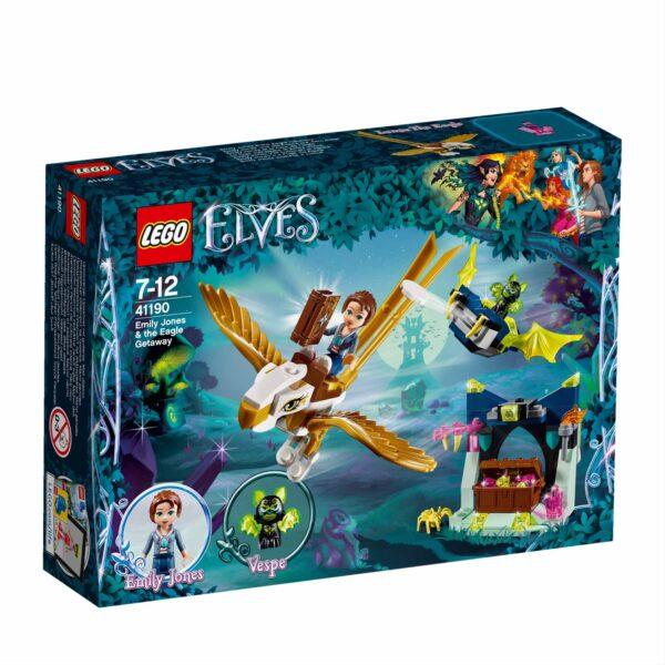 41190 - La fuga sull'aquila di Emily Jones - Lego Elves - Toys Center LEGO ELVES Femmina 12+ Anni, 5-8 Anni, 8-12 Anni ALTRI