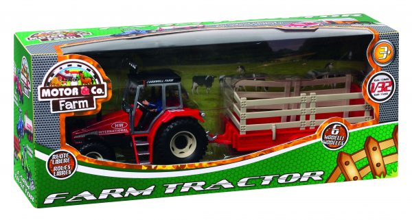 FARM TRACTOR TOYS CENTER Maschio 0-12 Mesi, 12-36 Mesi, 12+ Anni, 3-5 Anni, 5-8 Anni, 8-12 Anni MOTORI & CO