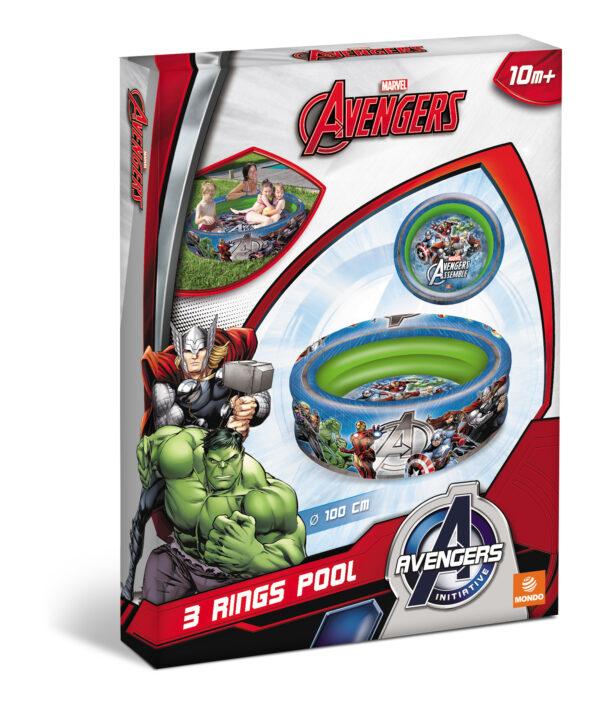 Marvel Avengers Piscina Avengers Maschio 0-12 Mesi, 0-2 Anni, 12-36 Mesi, 3-4 Anni, 3-5 Anni