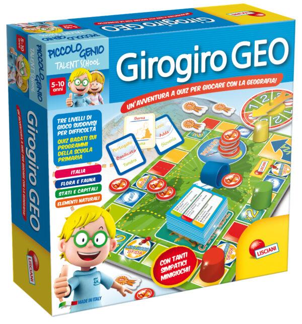 LISCIANI - Piccolo Genio Ts Giro Giro Geo PICCOLO GENIO Unisex 3-5 Anni, 5-8 Anni ALTRI