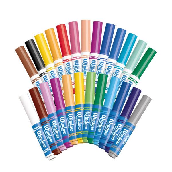 Set Colori per Vetro - Altro - Toys Center ALTRI Unisex 12+ Anni, 3-5 Anni, 5-8 Anni, 8-12 Anni CRAYOLA