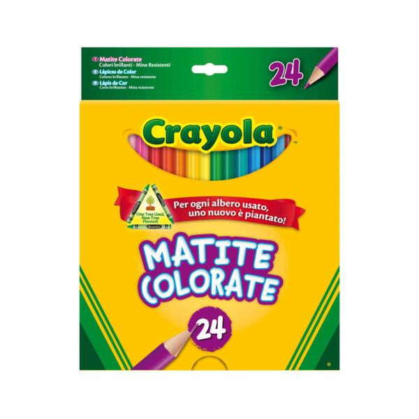 24 Matite colorate Crayola - Altro - Toys Center CRAYOLA Unisex 12-36 Mesi, 12+ Anni, 3-5 Anni, 5-8 Anni, 8-12 Anni ALTRI