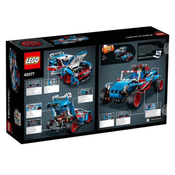 42077 - Auto da rally - Età ALTRI Maschio 12+ Anni, 8-12 Anni LEGO TECHNIC