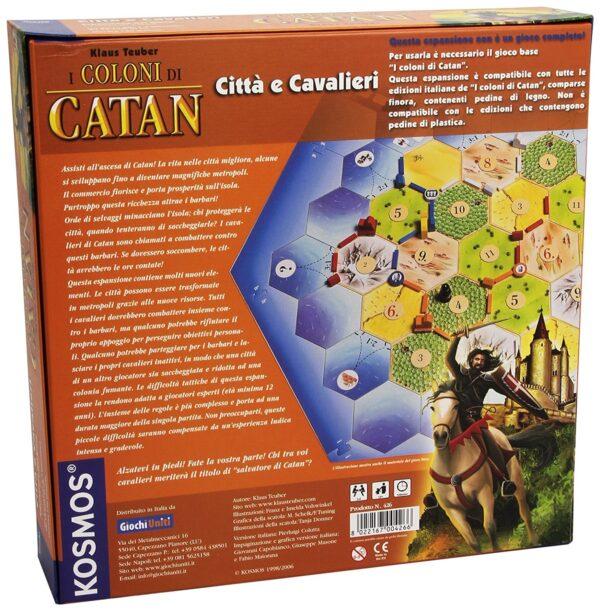 COLONI DI CATAN CITTA CAVALIER - Altro - Toys Center ALTRI Unisex 12+ Anni, 8-12 Anni ALTRO