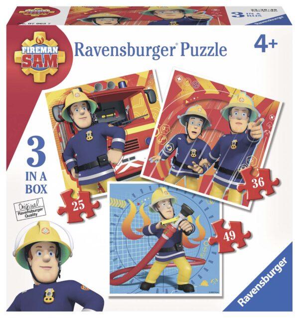 Sam il pompiere 3 in a box ALTRO Maschio 3-5 Anni SAM IL POMPIERE