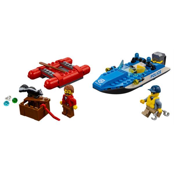 LEGO CITY ALTRI 60176 - Fuga sul fiume - Lego City - Toys Center Maschio 12+ Anni, 3-5 Anni, 5-8 Anni, 8-12 Anni