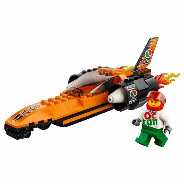 60178 - Bolide da record - Lego City - Toys Center ALTRI Maschio 12+ Anni, 3-5 Anni, 5-8 Anni, 8-12 Anni LEGO CITY