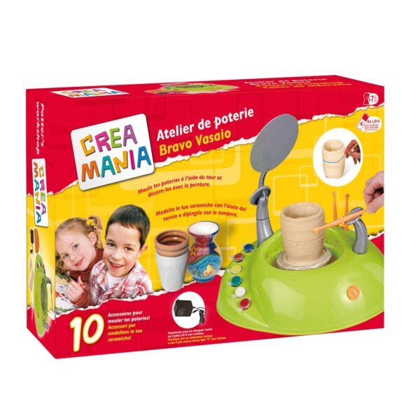 VASAIO ELETTRICO - Creamania Unisex - Toys Center CREAMANIA UNISEX Unisex 5-8 Anni ALTRI