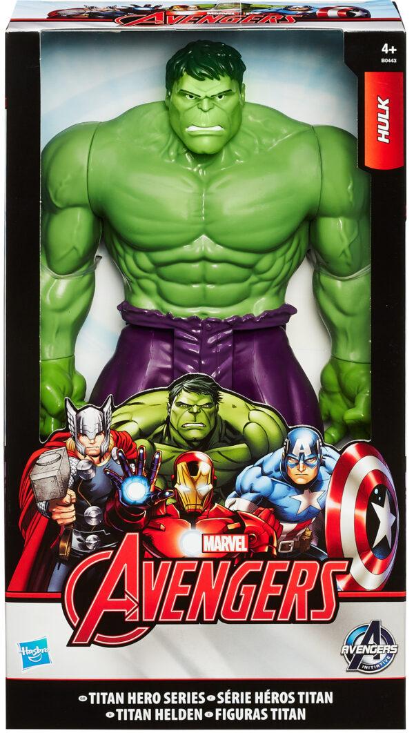 AVENGERS, Action Figures 30 Cm Hulk Marvel Maschio 3-5 Anni, 5-8 Anni Avengers