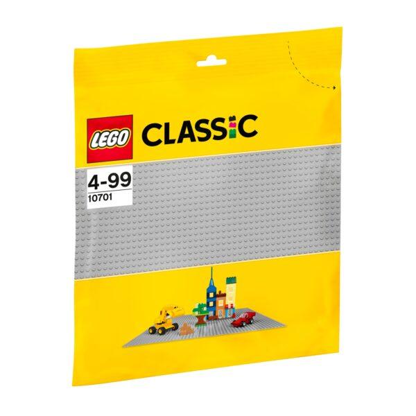 10701 - Base grigia LEGO CLASSIC Unisex 3-4 Anni, 3-5 Anni, 5-7 Anni, 5-8 Anni, 8-12 Anni ALTRI