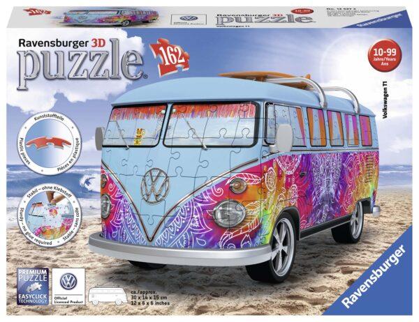Camper Volkswagen Indian Summer - Puzzle 3D Veicoli Ravensburger 12527 RAVENSBURGER PUZZLE 3D Unisex 12+ Anni, 8-12 Anni ALTRI