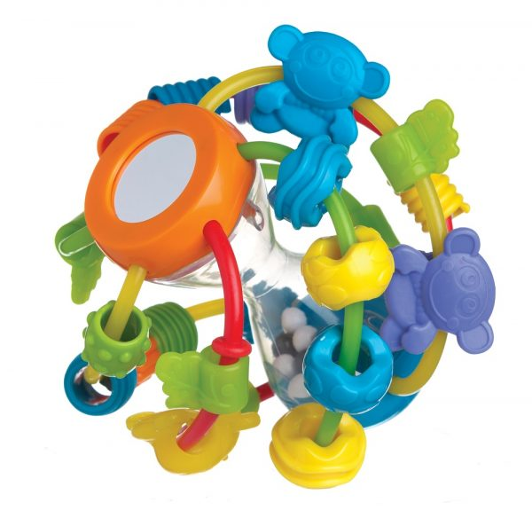 Play and Learn Ball - Altro - Toys Center ALTRO Unisex 0-12 Mesi, 12-36 Mesi, 3-5 Anni ALTRI