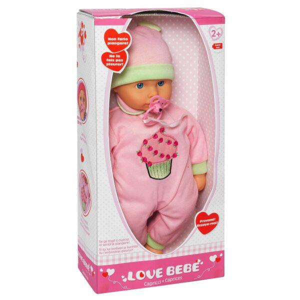 LOVE BEBÈ CAPRICCI - Love BebÈ - Toys Center LOVE BEBÈ Femmina 12-36 Mesi, 3-5 Anni, 5-8 Anni, 8-12 Anni ALTRI