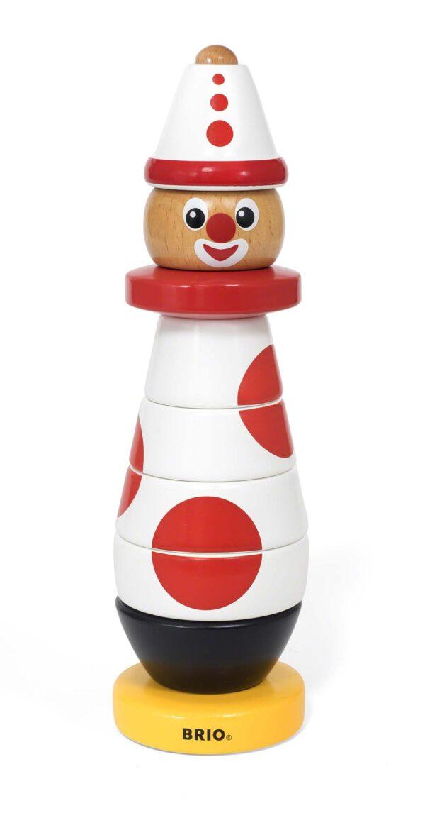 BRIO Clown da impilare - Brio Giochi Pedagogici - Toys Center BRIO GIOCHI PEDAGOGICI Unisex 0-12 Mesi, 12-36 Mesi, 3-5 Anni, 5-8 Anni, 8-12 Anni ALTRI
