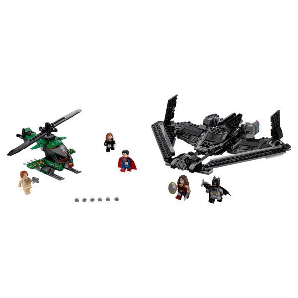 DC COMICS BATMAN 76046 - Eroi della Giustizia: battaglia nei cieli - Dc Comics - Toys Center Maschio 12+ Anni, 5-8 Anni, 8-12 Anni