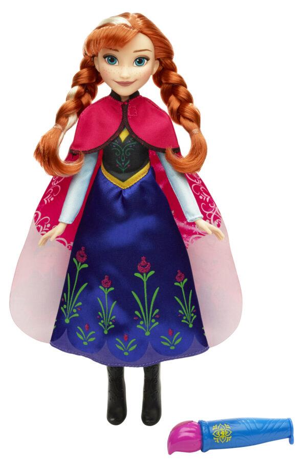 Anna - Mantello Cambia Colore - Disney - Fashion dolls