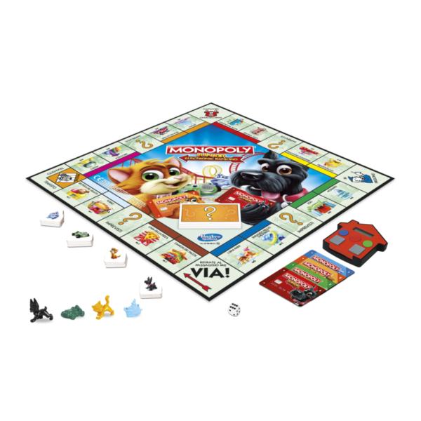 Monopoly Junior Electronic Banking - Hasbro Gaming - Toys Center - HASBRO GAMING - Fino al -30%
