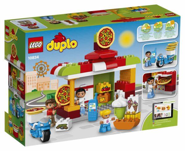 10834 - La pizzeria ALTRI Unisex 3-4 Anni, 5-7 Anni LEGO DUPLO