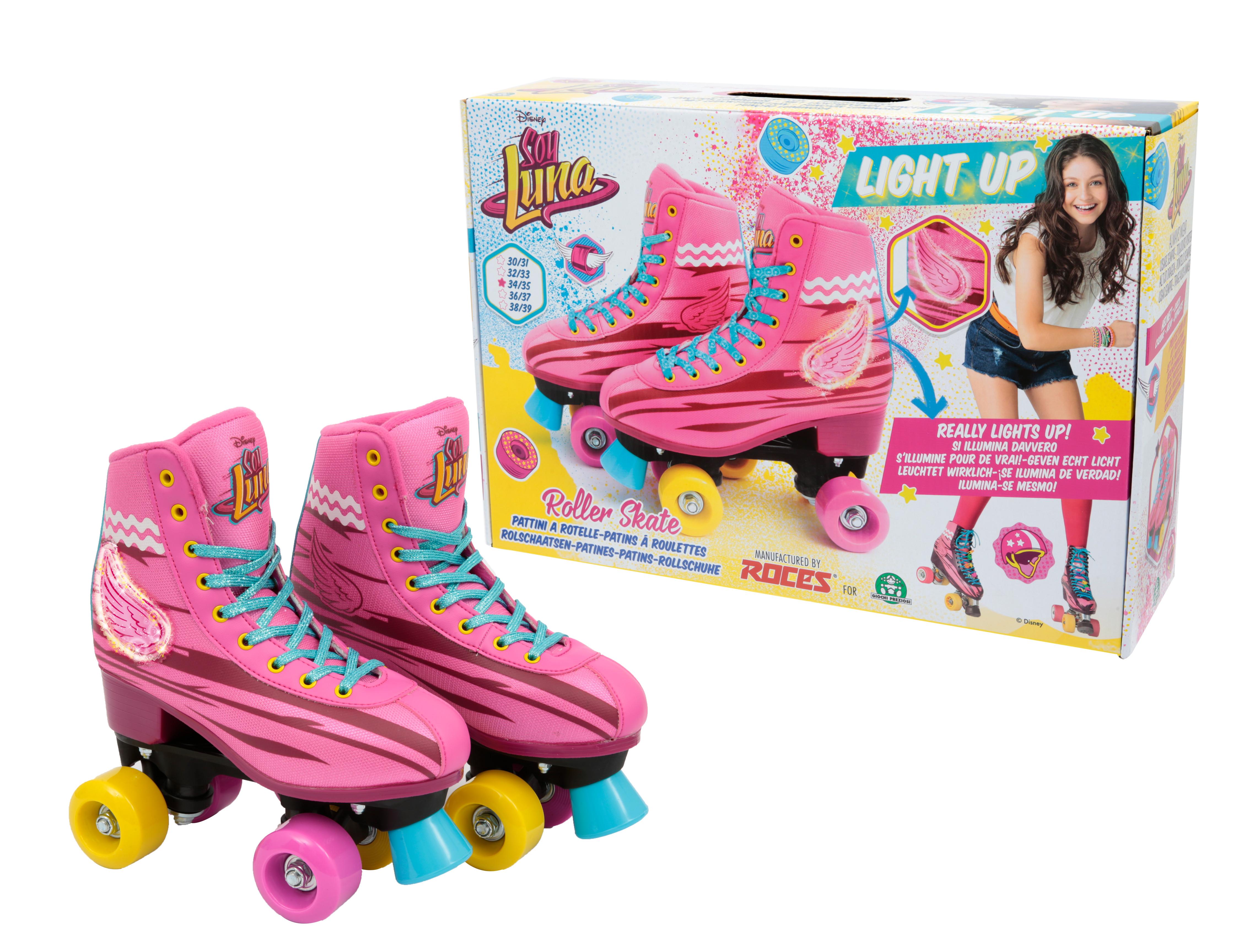 8ce5f4dcda895e SOY LUNA PATTINI TRAINING LIGHT UP Taglia 30/31 - Toys Center