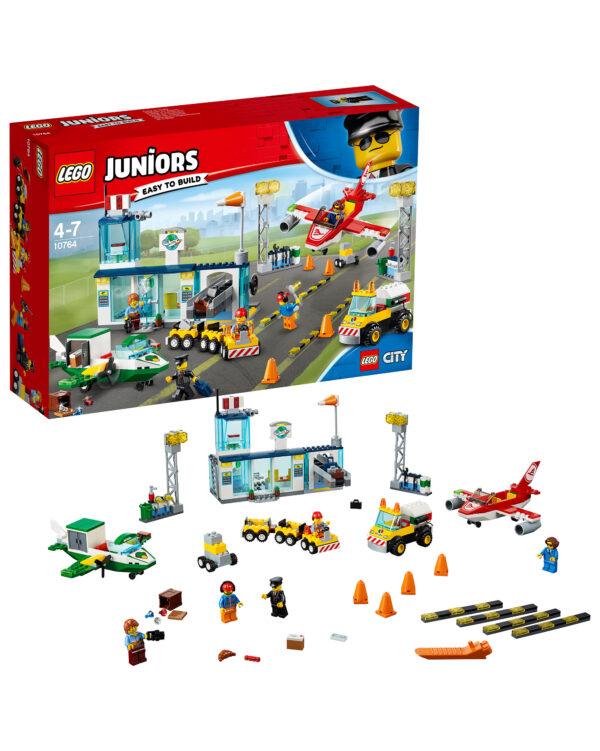 LEGO JUNIORS ALTRI 10764 - Aeroporto di città - Lego Juniors - Toys Center Unisex 3-5 Anni, 5-8 Anni
