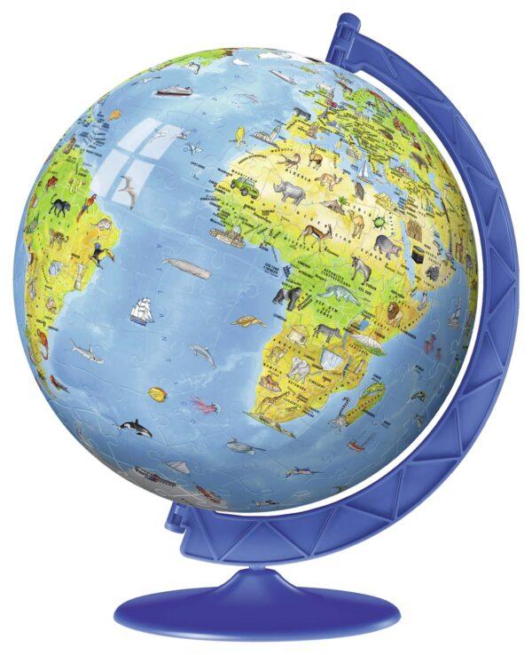 3D Puzzleball - Globo geografico ALTRI Unisex 12+ Anni, 5-8 Anni, 8-12 Anni ALTRO