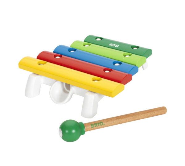 BRIO strumento musicale - xilofono - BRIO Giochi pedagogici - BRIO infant - BRIO - Linee ALTRI Unisex 0-12 Mesi, 12-36 Mesi BRIO