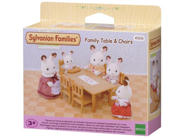 Sylvanian Families – Set tavolo con sedie SYLVANIAN FAMILIES Femmina 12-36 Mesi, 3-4 Anni, 3-5 Anni, 5-7 Anni, 5-8 Anni, 8-12 Anni ALTRI