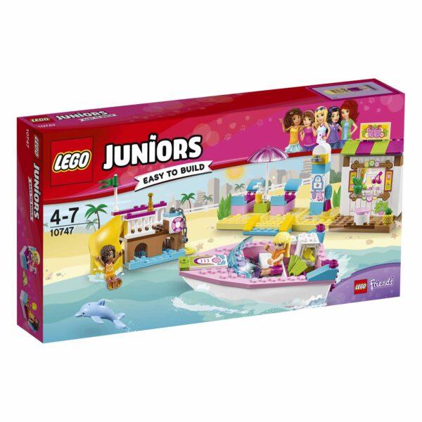 10747 - Vacanze al mare LEGO JUNIORS Unisex 3-4 Anni, 5-7 Anni ALTRI