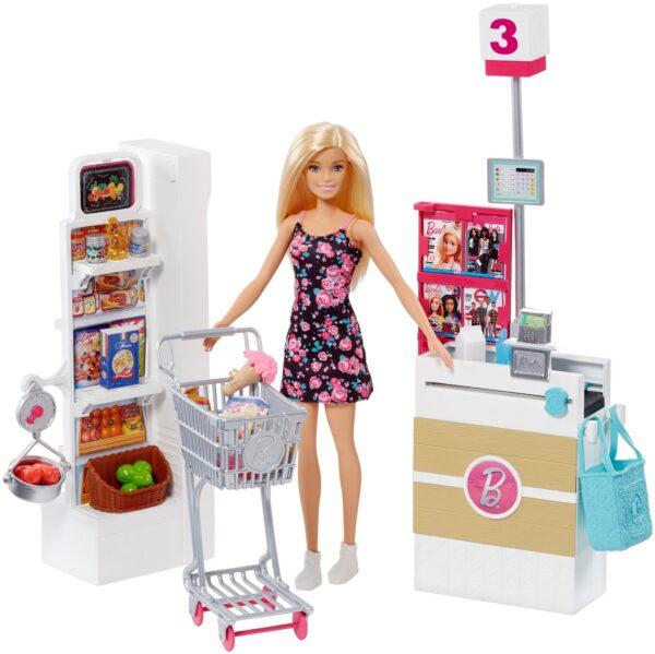 Barbie - negozio di alimentari Barbie Femmina 12-36 Mesi, 12+ Anni, 3-5 Anni, 5-8 Anni, 8-12 Anni ALTRI