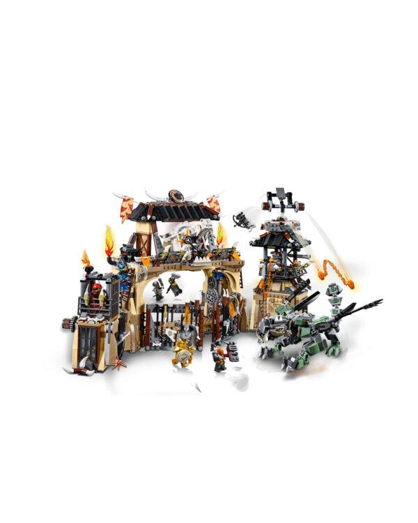 70655 - La fossa del dragone - Lego Ninjago - Toys Center Unisex 12+ Anni, 8-12 Anni ALTRI LEGO NINJAGO