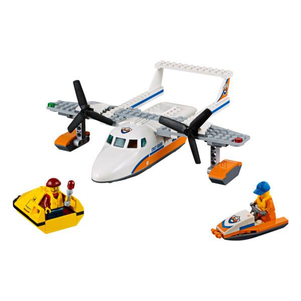 LEGO CITY ALTRI LEGO 60164 - Idrovolante di salvataggio Maschio 3-5 Anni, 5-7 Anni, 5-8 Anni, 8-12 Anni