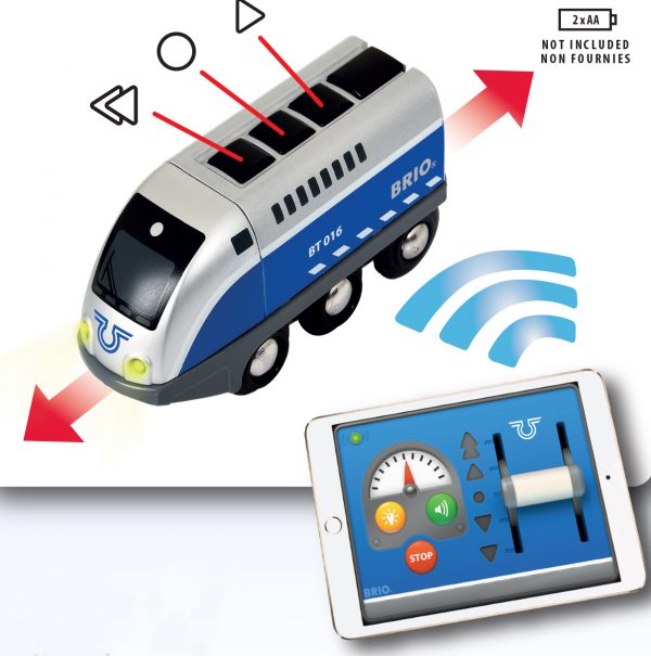BRIO locomotiva a batterie telecomandata tramite app ALTRI Unisex 12-36 Mesi, 3-4 Anni, 3-5 Anni, 5-7 Anni, 5-8 Anni BRIO