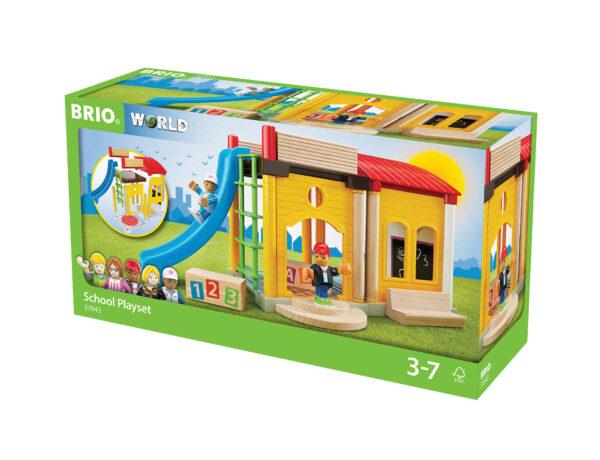 BRIO Playset scuola BRIO Unisex 12-36 Mesi, 3-4 Anni, 3-5 Anni, 5-7 Anni, 5-8 Anni ALTRI
