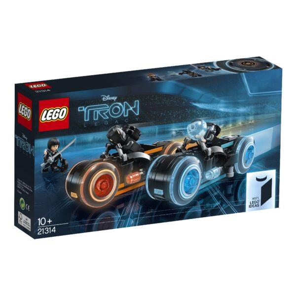 LEGO IDEAS ALTRI 21314 - TRON: Legacy Unisex 12+ Anni, 8-12 Anni