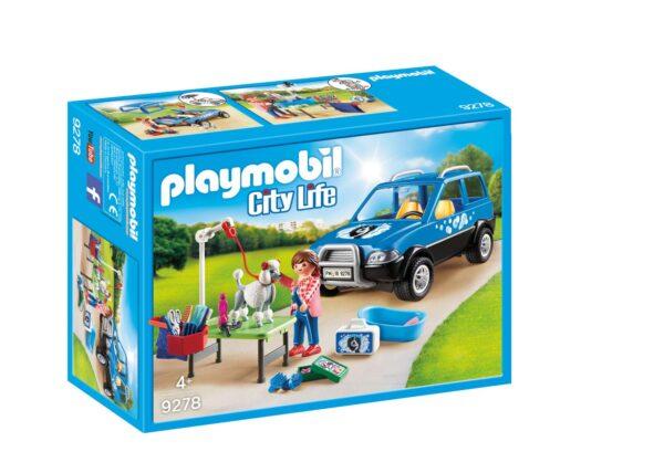 UNITÀ MOBILE DI CURA DEI CANI - Playmobil - City Life - Toys Center Playmobil City Life Unisex 12+ Anni, 3-5 Anni, 5-8 Anni, 8-12 Anni ALTRI