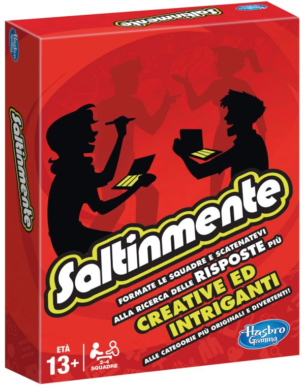 SALTINMENTE - Hasbro Gaming - Toys Center - HASBRO GAMING - Giochi da tavolo