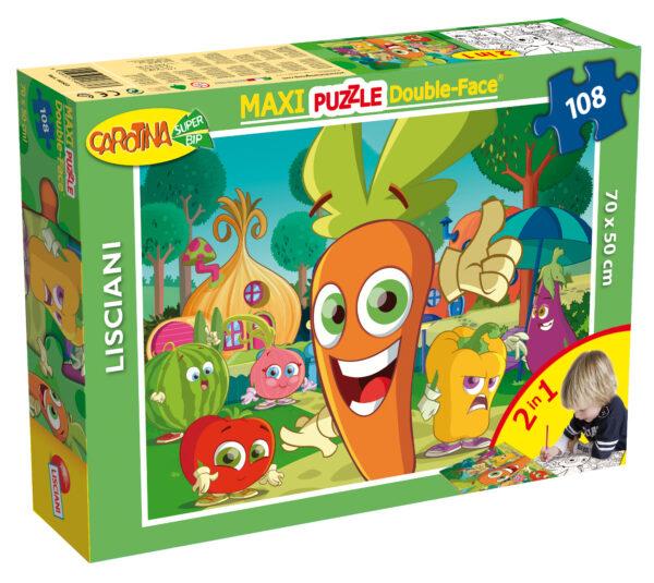 PUZZLE DF SUPERMAXI 108 CAROTINA - Carotina - Toys Center - CAROTINA - Giochi educativi, musicali e scientifici